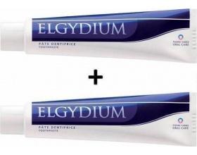 ELGYDIUM Anti-Plaque Οδοντόπαστα κατά της πλάκας για ευαίσθητα ούλα 100ml+100ml