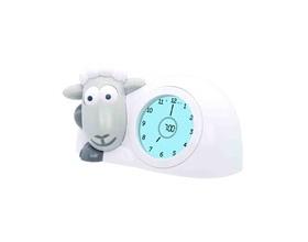 ZAZU Sam ξυπνητήρι προβατάκι με φωτάκι νυκτός grey για την εκμάθηση πρωινού ξυπνήματος