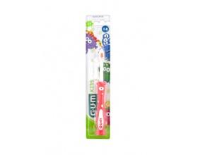 Gum 901 Kids Παιδική Οδοντόβουρτσα Μαλακή 3-6 ετών χρώματος πορτοκαλί , 1 τεμάχιο
