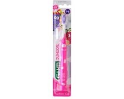 Gum 902 Οδοντόβουρτσα Junior Monsterz 7-9 ετών, χρώματος ρόζ 1τμχ