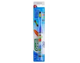 Gum 903 Μαλακή Παιδική Οδοντόβουρτσα με Φωτεινή Ένδειξη Μπλέ Αναβοσβήνει για 1 λεπτό ώστε να βοηθήσει το παιδί να βουρτσίζει περισσότερο 1 τεμάχιο