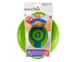 Munchkin, White Hot Plates Πιατάκια με Ένδειξη Θερμότητας 2τμχ
