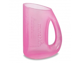 Munchkin, Κύπελλο για Ξέβγαλμα Μαλλιών Σε Ρόζ Χρώμα, 1 τεμάχιο