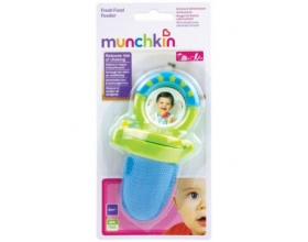 Munchkin, Παιδικό Δίχτυ Ταΐσματος 6m+, χρώμα Μπλε, 1τμχ