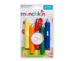 MUNCHKIN Σετ Από 5 Παιδικά Μολύβια Για Το Μπάνιο