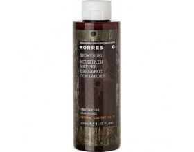 Korres Αφρόλουτρο Mountain Pepper Bergamot Coriander 250ml