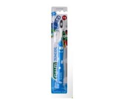 Gum 902 Οδοντόβουρτσα Junior Monsterz 7-9 ετών, χρώματος μπλέ 1τμχ