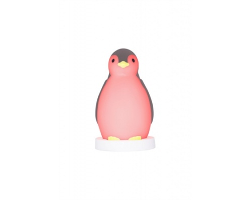 ZAZU Pam πιγκουίνος Ηχείο, εκμάθηση ξυπνήματος, ύπνου, φωτάκι νυκτός ρόζ