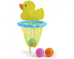 Munchkin, DuckDunk Basket Bath Toy Μπασκέτα Μπάνιου, 12m+, 4τμχ