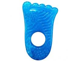 Munchkin, Μασητικό Fun Ice Chewy Teether 0m+ Χρώμα Μπλε, Σχήμα Πατούσα, 1τμχ