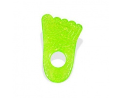 Munchkin, Μασητικό Fun Ice Chewy Teether 0m+ Χρώμα Πράσινο, Σχήμα Πατούσα, 1τμχ
