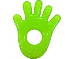 MUNCHKIN Μασητικό Fun Ice Chewy Teether 0m+ Χρώμα Πράσινο, Σχήμα Παλάμη, 1τμχ