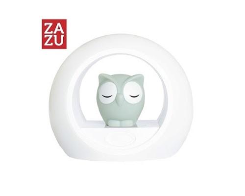 ZAZU Lou η Κουκουβάγια στο φεγγάρι Φώς grey Φώς Πορτατίφ νυχτός διπλό (2 σε 1) που ενεργοποιείτε με τη φωνή