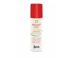 Uplab Akutol stop spray έχει άμεση πηκτική δράση στην πληγή 60ml