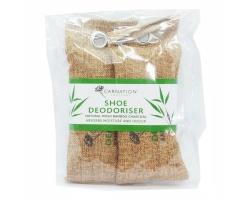 VICAN Carnation Αποσμητικοί Σάκοι Υποδημάτων από Φυσικό Μπαμπού Ξυλάνθρακα Moso, 2 τεμάχια