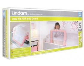 LINDAM Easy Fit Bed Rail Blue Μπαριέρα κρεβατιού, Χρώμα Ροζ, 1τμχ