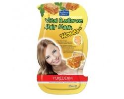 Purederm Vital Radiance Hair Mask, Μάσκα Μαλλιών Με Μέλι, 20ml