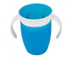 Munchkin, Miracle 360° Trainer Cup Κύπελλο Εκπαιδευτικό χρώματος Mπλέ 207ml