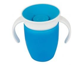 MUNCHKIN Miracle 360° Trainer Cup Κύπελλο Εκπαιδευτικό χρώματος Mπλέ 207ml
