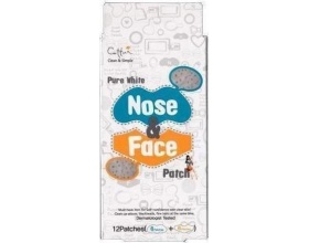 VICAN Pure White Nose & Face Patches, Επιθέματα Αφαίρεσης της Λιπαρότητας και των μαυρων στιγμάτων, 12 srrips