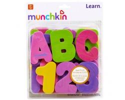 MUNCHKIN  Eκπαιδευτικό Παιχνίδι Μπάνιου με Γράμματα & Αριθμούς