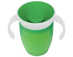 Munchkin, Miracle 360° Trainer Cup Κύπελλο Εκπαιδευτικό χρώματος πράσινο 207ml