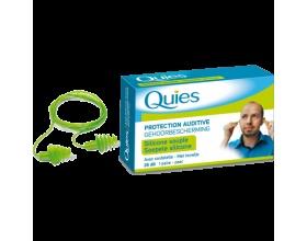Pharmaq Quies Ωτοασπίδες Σιλικόνης Κορδόνι,  1 Ζευγάρι