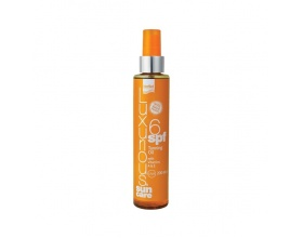 INTERMED Luxurious Sun Care Tanning SPF6 Oil, Dry Sun Oil for Fast and Strong Tan, 200 ml