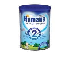 HUMANA Optimum 2, Γάλα δεύτερης βρεφικής ηλικίας μετά τον 6ο μήνα 350γρ