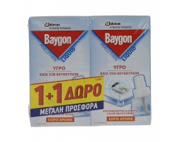 BAYGON, GENIUS PROTECTOR, ΑΝΤ/ΚΟ 1+1 ΔΩΡΟ