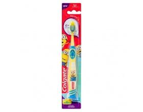 Colgate Smiles Junior Soft Παιδική Μαλακή Οδοντόβουρτσα 6+ Ετών, κίτρινη, 1 τεμάχιο