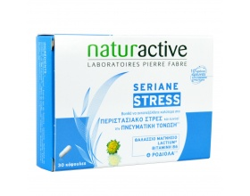 Naturactive, Seriane Stress, Συμπλήρωμα Διατροφής Κατά του Στρες, 30 Κάψουλες