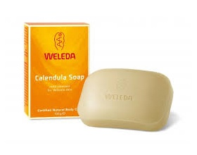 Weleda Σαπούνι Καλέντουλας για τον καθαρισμό της ευαίσθητης επιδερμίδας, 100 gr