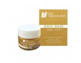 LAB.NEWMED Gold Mask Peel off Με Neurophroline, Boswellia Serrata, Υαλουρονικό Οξύ, Haberlea Rhodopensis Leaf Extract, Χρυσό 50ml