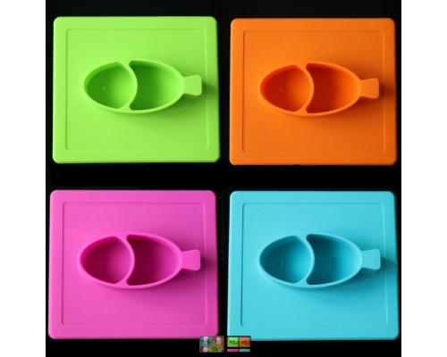 Stark&Watson, Easy Mats Σουπλά-Πιάτο, Χρώμα Γαλάζιο, 1τμχ