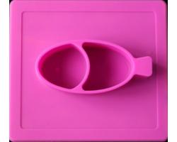 Stark&Watson, Easy Mats Σουπλά-Πιάτο, Χρώμα Φούξια, 1τμχ
