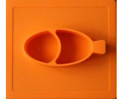 Stark&Watson, Easy Mats Σουπλά-Πιάτο, Χρώμα Πορτοκαλί, 1τμχ
