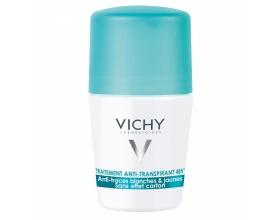 VICHY,  Deodorant 48ωρη Αποσμητική Φροντίδα - Roll-On 50ml