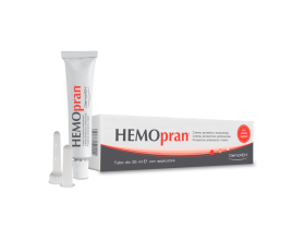 Dermoxen Hemopran Protective Endorectal Cream Προστατευτική Κρέμα για την ανακούφιση από ερεθισμούς στην περιοχή του πρωκτού & της περιπρωκτικής περιοχής, 35ml