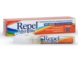 Unipharma Repel After Bite Καταπραϋντικό Gel για την ανακούφιση από τσιμπήματα, 6.5ml