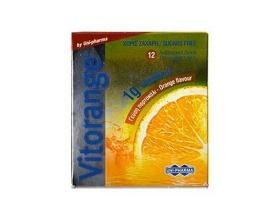Uni-Pharma Vitorange 1 gr Vitamin C Sugar Free,12 αναβράζοντα δισκία