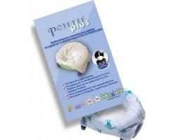 Babywise Potette Plus Σακούλες Ανταλακτικές Βιοδιασπώμενες, 10τμχ