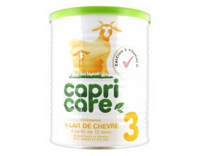 Capricare, Γάλα 3ης Βρεφικής Ηλικίας από τον 12ο Μήνα, Κατσικίσιο Γάλα, 400gr
