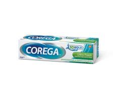 Corega 3D Hold Ultra Fresh Στερεωτική Κρέμα Οδοντοστοιχιών με δροσερή γεύση μέντας, 40gr