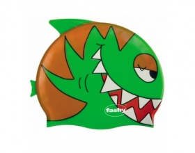 Fashy Παιδικό Σκουφάκι Σιλικόνης, Χρώμα Πράσινο, 1τμχ