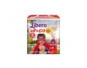 Libero Up&Go Super Hero Edition, Πάνα Βρακάκι Νο5 10-14Kg, 22 πάνες