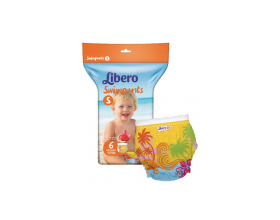 Libero Swimpants S, Πάνα Μαγιό μιας Χρήσης, 7-12Kg, 6τμχ