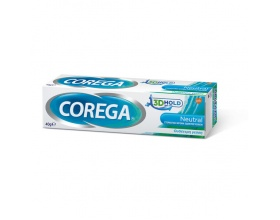 Corega 3D Hold Neutral Στερεωτική Κρέμα Οδοντοστοιχιών με ουδέτερη γεύση, 40gr