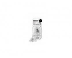 SUAVINEX 0+m, Θηλή Σιλικόνης Στρογγυλή, Αργής Ροής,3800150, 2 τεμ.