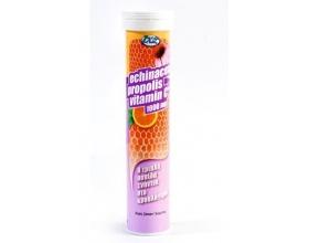 Inoplus Vitamin C 1000mg, Echinacea, Propolis Τριπλή Ασπίδα ενάντια στο κρυολόγημα 24 Αναβράζοντα Δισκία